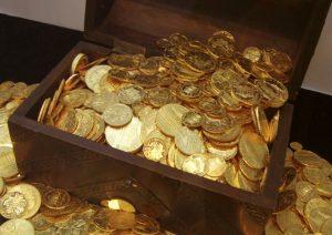Les pièces d'or