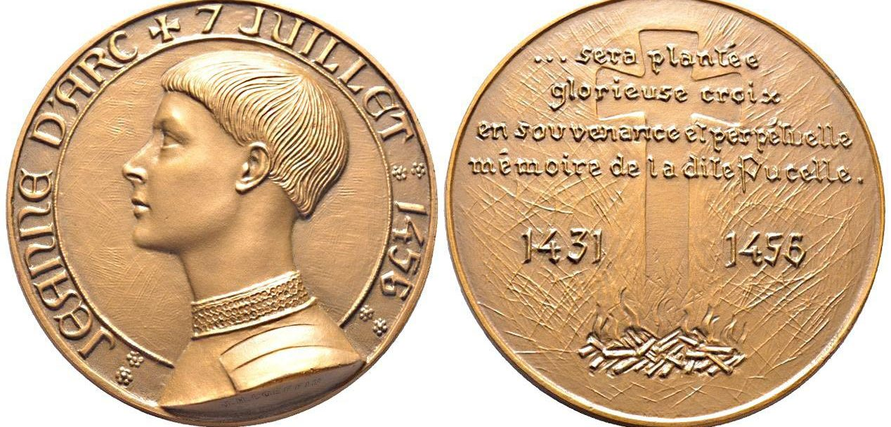 Medaille jeanne d'arc - image
